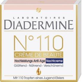 Diadermine  Nachtpflege N110 Hochleistungs Anti Age Nachtcreme