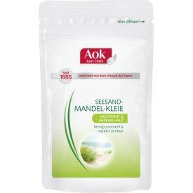 Aok Peeling Seesand-Mandel Kleie mit weißem Tee