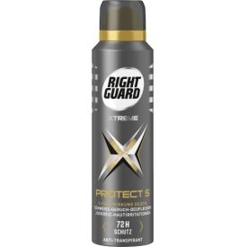 Right Guard Deo Spray PROTECT 5 Antitranspirant mit 5 fach Wirkung