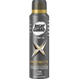 Right Guard Deo Spray PROTECT 5 Antitranspirant mit 5 fach Wirkung