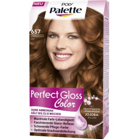 Poly Palette Dauerhafte Haarfarbe Coloration Perfect Gloss Color Zimt 657