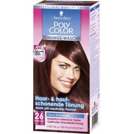 Poly Color Haartönung Tönungs-Wäsche 26 Rotbraun