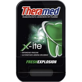 Theramed  Zahncreme X-ite Fresh Explosion