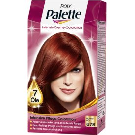 Poly Palette Dauerhafte Haarfarbe Intensiv Creme Coloration Rubinrot 678