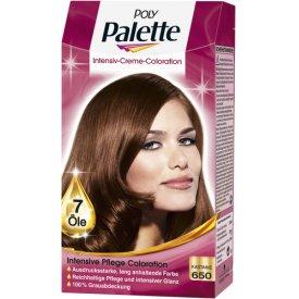 Poly Palette Dauerhafte Haarfarbe Intensive Creme Coloration Kastanie 650
