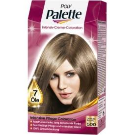 Poly Palette Dauerhafte Haarfarbe Intensive Creme Coloration Dunkelblond 500