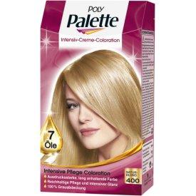 Poly Palette Dauerhafte Haarfarbe Intensive Creme Coloration Naturblond 400