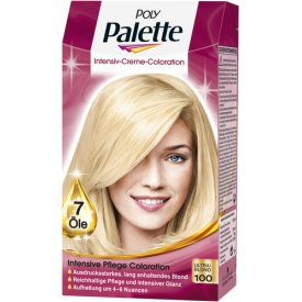 Poly Palette Dauerhafte Haarfarbe Intensiv Creme Coloration 100 Ultrablond