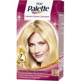 Poly Palette Dauerhafte Haarfarbe Intensive Creme Coloration Helles Naturblond 200