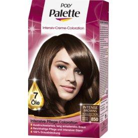 Poly Palette Dauerhafte Haarfarbe Intensive CremeColoration Mokkabraun 850