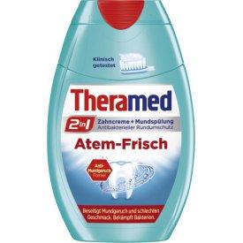 Theramed  Zahncreme   Mundspülung 2in1 Atem Frisch