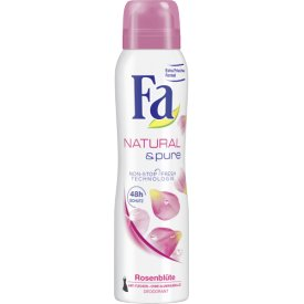 FA Deo Spray Natural & Pure Rosenblüte