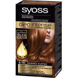 Schwarzkopf Syoss Dauerhafte Haarfabe Coloration Oleo Intense Warmes Kupfer 6 - 76