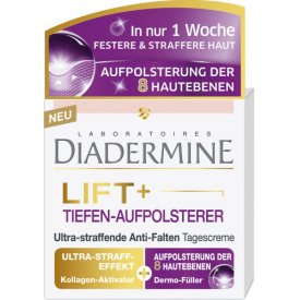 Diadermine  Anti-Falten Lift plus Tiefen-Aufpolsterer Ultra-Straffende Tagescreme