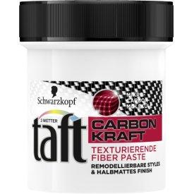 Schwarzkopf Drei Wetter Taft Haarwax Carbon Kraft Texturierende Fiber Paste