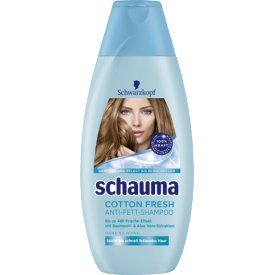 Schwarzkopf Schauma Shampoo Cotton Fresh Anti Fett