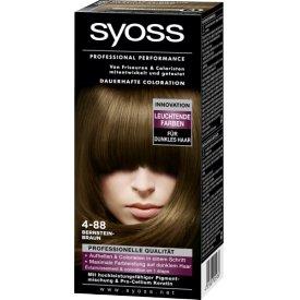 Schwarzkopf Syoss Dauerhafte Haarfabe Coloration 4-88 Bernsteinbraun