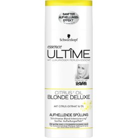 Schwarzkopf Essence Ultime Blonde Deluxe Aufhellende Spülung