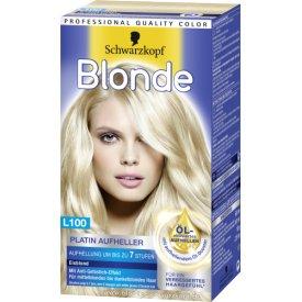 Schwarzkopf Blonde Aufheller Blonde Platin L100 eisblond