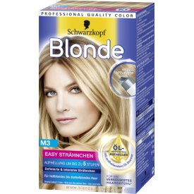 Schwarzkopf Blonde Strähnchenfarbe Blonde M3 Easy