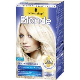 Schwarzkopf Blonde Aufheller Blonde Platin L101 silberblond