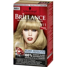 Schwarzkopf Brillance Intensiv Color Creme 911 himmlisches blond
