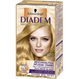 Schwarzkopf Diadem Dauerhafte Haarfarbe  N20 Honigblond