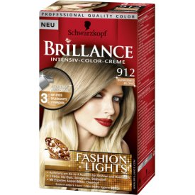 Schwarzkopf Brillance Intensiv Color Creme 912 sunkissed blond