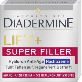 Diadermine  Nachtpflege Lift  Super Filler Hyaluron Anti-Age