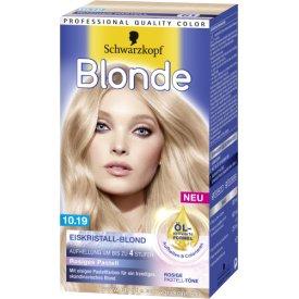 Schwarzkopf Blonde Haarfarbe Blonde 10.19 Eiskristall Blond