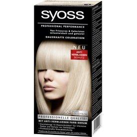 Schwarzkopf Syoss Coloration Haarfarbe Platinblond 10-1