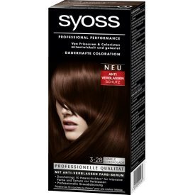 Syoss COLOR 3-28 Dunkle Schokolade