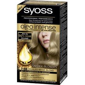 Schwarzkopf Syoss Oleo Intense 7-58 Kühles Beige Blond