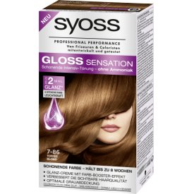 Schwarzkopf Syoss Haartönung Gloss Sensation 7-86 Toffee Blond