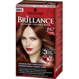 Schwarzkopf Haarfarbe Brillance 867 Mahagoni Braun