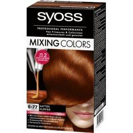 Schwarzkopf Syoss Haarfarbe Mixing Colors 6-77 Sattes Kupfer