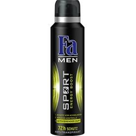 FA Deo Spray Men Sport Energy Boost 72h Schutz