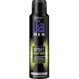 FA Deo Spray Men Sport Energy Boost 72h Schutz