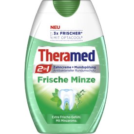 Theramed Zahncreme 2in1 Frische Minze