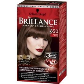 Schwarzkopf Brillance Intensiv Color Creme Haarfarbe 850 Venedig Braun