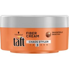 Schwarzkopf Drei Wetter Taft Haarcreme Fiber Cream Chaos Styler