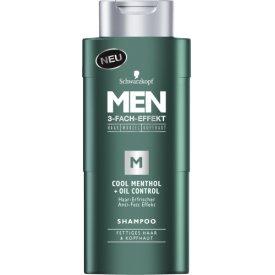 Schwarzkopf MEN Shampoo COOL MENTHOL
