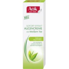 Aok Augenpflege Augencreme mit Weißem Tee