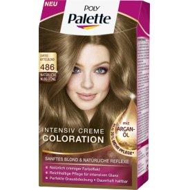 Poly Palette Dauerhafte Haarfarbe Intensiv-Creme-Coloration 486 Zartes Mittelblon