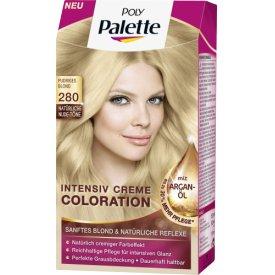 Dauerhafte Haarfarbe Intensiv-Creme-Coloration 280 Pudriges Blond
