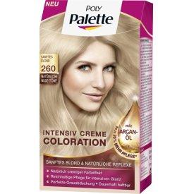 Poly Palette Dauerhafte Haarfarbe Intensiv-Creme-Coloration 260 Sanftes Blond