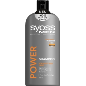 Schwarzkopf Syoss Shampoo Men Power & Strength