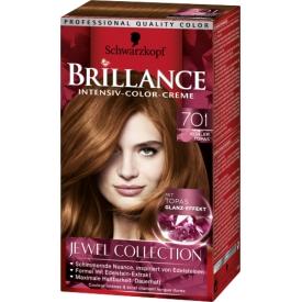 Schwarzkopf Brillance Coloration 701 Kühler Topas Jewel Collection