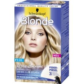 Schwarzkopf Blonde Blonde Aufheller F1 Feder-Blond