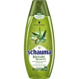 Schwarzkopf Schauma Shampoo Nature Moments Olivenöl & Aloe Vera